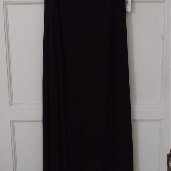 SLNY Dresses & Skirts - Beaded neck matte jersey dress